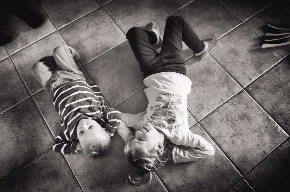 auf dem Boden